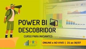 Curso Power BI Descobridor PRS Tecnologia